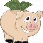 save $ piggy bank