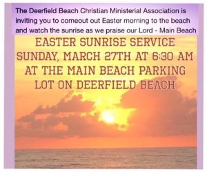deerfield christian singles Zion lutheran christian school is an above average, private, christian school located in deerfield beach, fl  single family.