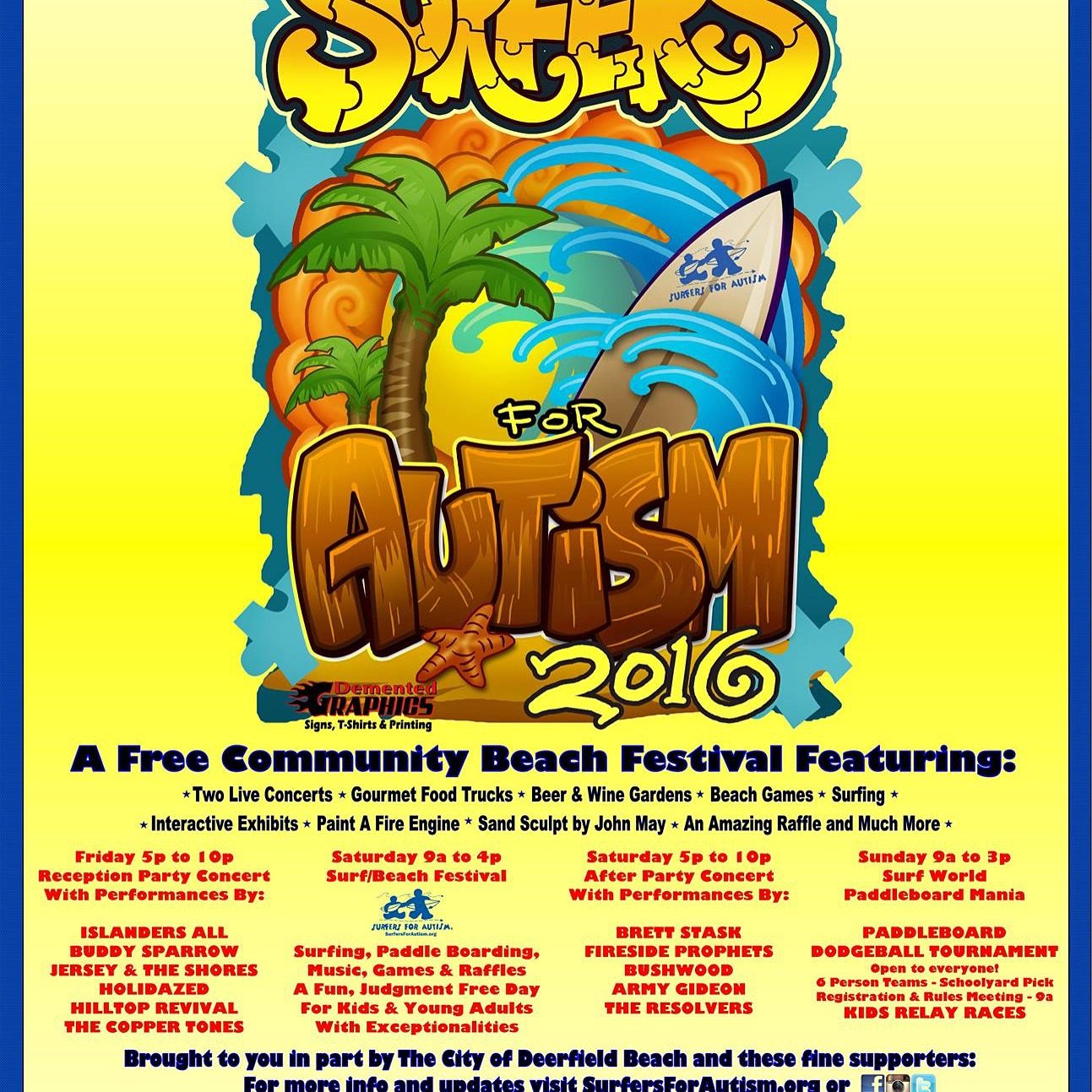 Surfers for Autism 2016